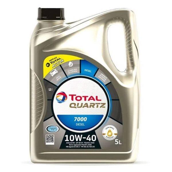 TOTAL Quartz 7000 10w40, total 10w40 cena, total beograd, total polusintetičko ulje, total q7000 cena, total ulje 10w40 cena